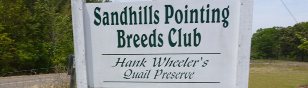 Sand Hills Pointing Breeds Club